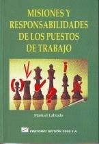 9788480881050: Misiones y responsabilidades de puestos de trabajo