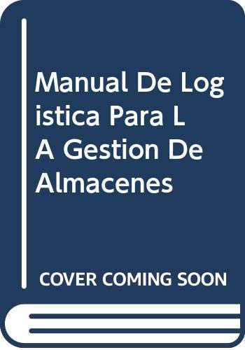 9788480881722: Manual de logistica para la gestion de almacenes