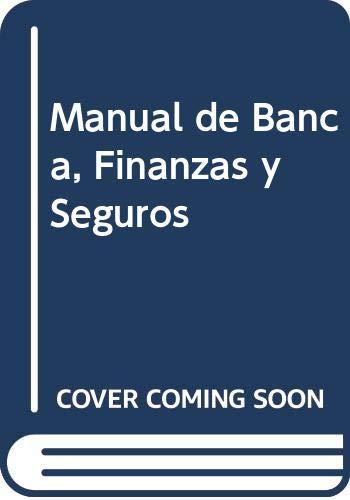 9788480881760: Manual de banca, finanzas y seguros