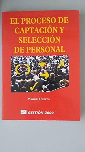 9788480881883: El proceso de captación y selección de personal