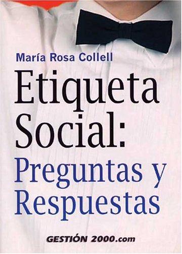 9788480882200: Etiqueta social : preguntas y respuestas