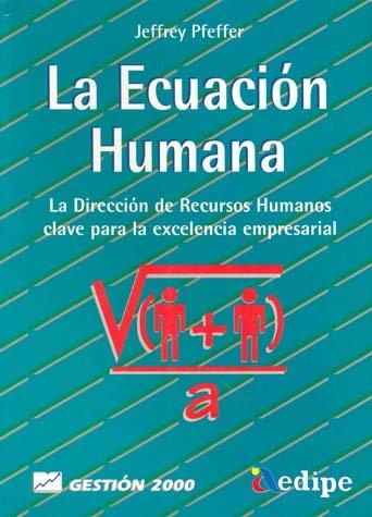 9788480882859: La ecuación humana