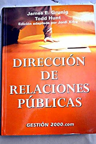 9788480883955: Direccion de relaciones publicas