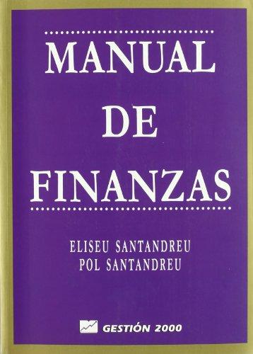 9788480884006: Manual de finanzas