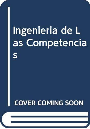 9788480885294: Ingenieria de Las Competencias (Spanish Edition)