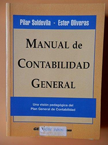 Manual de Contabilidad General: Soldevila, Pilar