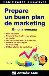 9788480887083: Prepare un buen Plan de Marketing: En una semana