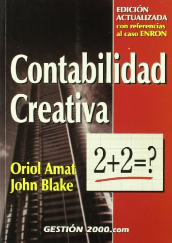 Contabilidad creativa - Oriol Amat y John Blake