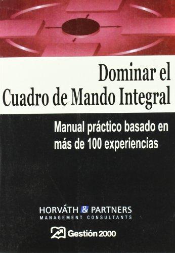 9788480888523: Dominar el Cuadro de Mando Integral