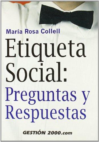 9788480889094: Etiqueta Social: Preguntas y Respuestas (Spanish Edition)