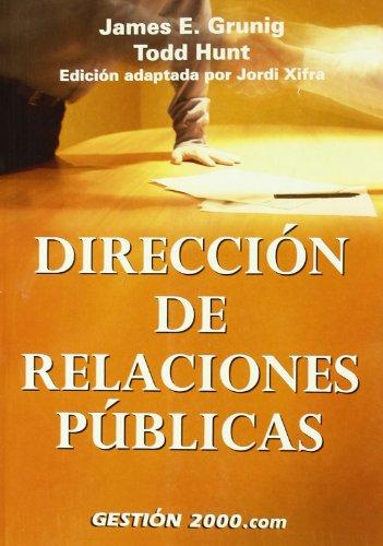 9788480889483: Dirección de Relaciones Públicas