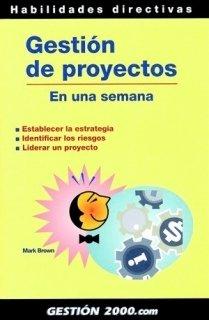 9788480889858: gestion de proyectos en una semana
