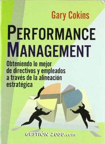 9788480889940: Performance Management