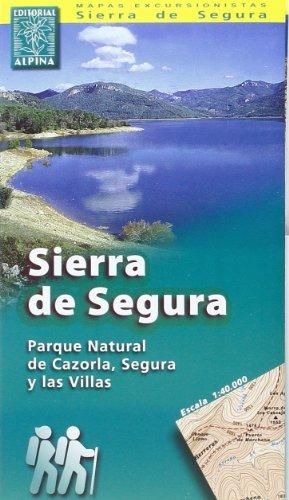 9788480900058: Carte routière : Sierra de Segura