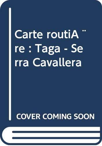 9788480900263: Taga, Serra Cavallera Hiking Map, Spain