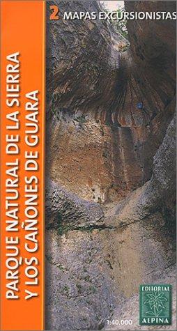 9788480900713: PARQUE NATURAL DE LA SIERRA DE GUARA (1:40000) (ALPINA)