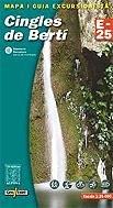 9788480901475: CINGLES DEL BERTÍ E-25 (E-25. Mapas guía excursionistas)