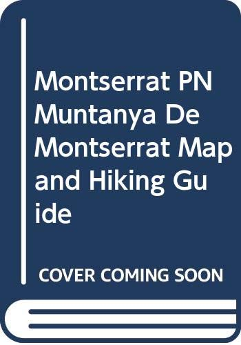 9788480902472: Mapa Montserrat 1:5000/1:10000 -alpina