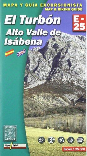 9788480902649: Turbon alto valle de Isabena (E-25. Mapas guía excursionistas)