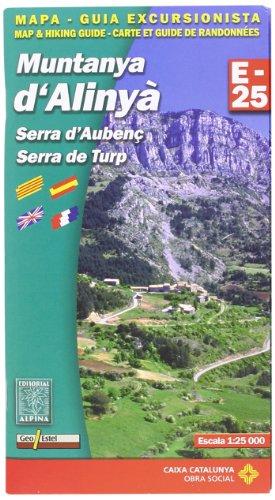 9788480903073: Muntanya d'Alinya - Serra d'Aubenc - De Turp: ALPI.146-E25