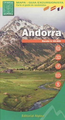 9788480903578: Andorra Mapa
