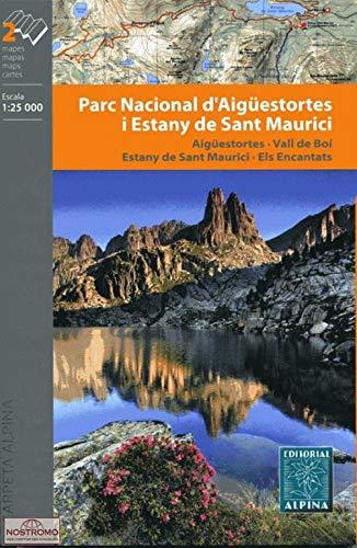 9788480903998: Parc Nacional d'Aigüestortes i Sant Maurici, mapa excursionista. Escala 1:25.000. Alpina Editorial.