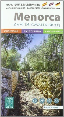 9788480904223: Menorca Senderista (Mapa Y Guia Excursionista)