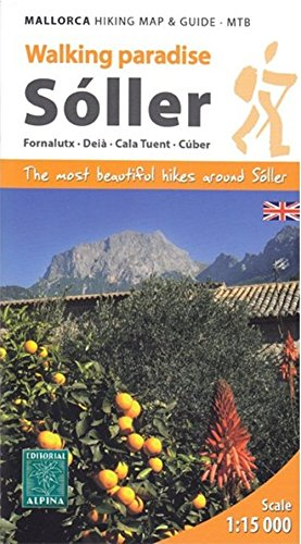 9788480904834: Soller - Mallorca Hiking Map and Guide - MTB: ALPI.HG060