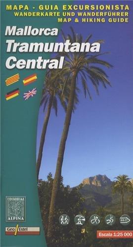 9788480904841: Mapa Mallorca Tramuntana Central 1:25000 (Mapa i guia excursionista)