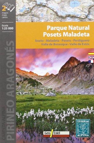 9788480904896: Posets Maladeta Parc Natural - Aneto/Maladeta/Posets/Perdiguero: ALPI.195-E25