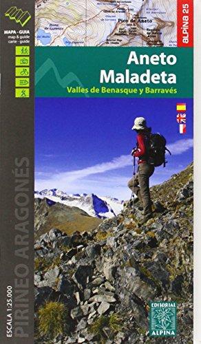 Maladeta Aneto (Vall de Benasque) Carte & Guide, M & Hiking G. 2015: ALPI.100-E25