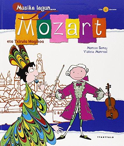 9788480914048: Musika lagun. Mozart eta txirula magikoa (+ CDa)