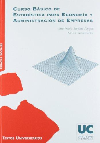 9788481025378: Curso básico de estadística para economía y administración de empresas
