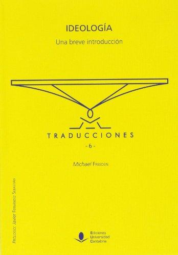 9788481026276: Ideología. Una breve introducción: 6 (Traducciones)