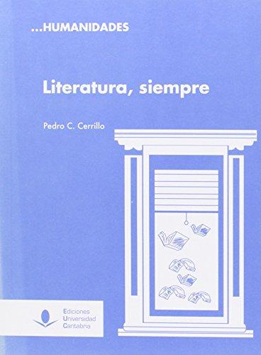 LITERATURA, SIEMPRE: CERRILLO TORREMOCHA, PEDRO C.