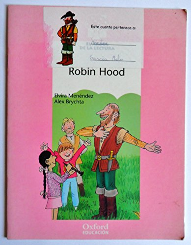 9788481042924: ROBIN HOOD POR ELVIRA MENENDEZ Y ALEX BRYCHTA / OXFORD EDUCACION 2000.