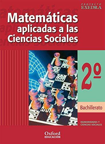 9788481044775: Matemáticas Humanidades 2º Bachillerato Exedra Libro del Alumno - 9788481044775