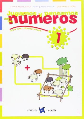 9788481051094: Jugamos Y Pensamos Con Los Números 1