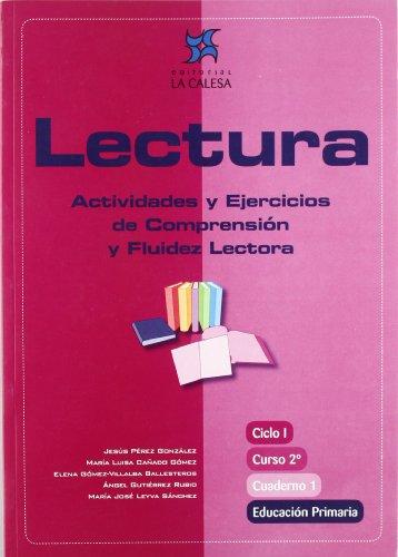 9788481051377: Lectura. Actividades Y Ejercicios De Comprensión Y Fluidez Lectora. Ciclo I, Curso 2º Educación Primaria - Cuaderno 1