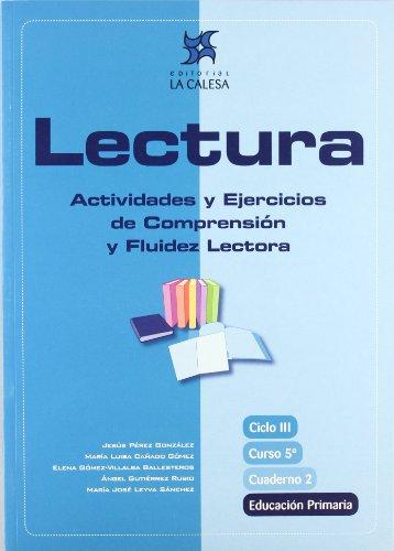 9788481051445: Lectura, actividades y ejercicios de comprensión y fluidez lectora, 5 Educación Primaria. Cuaderno 2