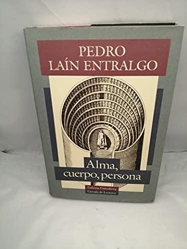 9788481090390: ALMA, CUERPO, PERSONA (2ª ED.)