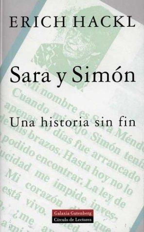 9788481091632: Sara y Simón: Una historia sin fin