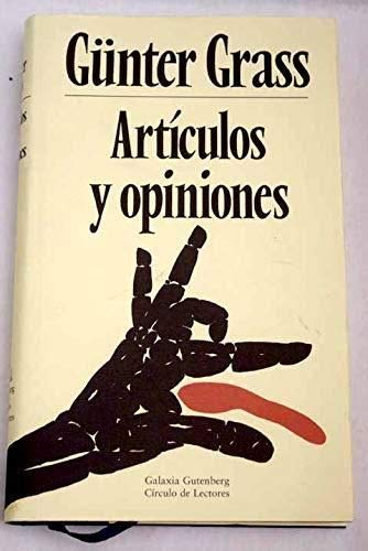 9788481092851: Articulos y opiniones/ Articles and Opinions (Spanish Edition)