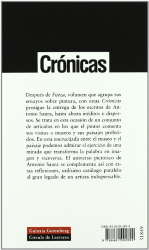 9788481092899: Crónicas: Artículos (Ensayo)