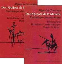 Don Quijote De La Mancha (Dos Tomos) - Miguel De Cervantes Saavedra