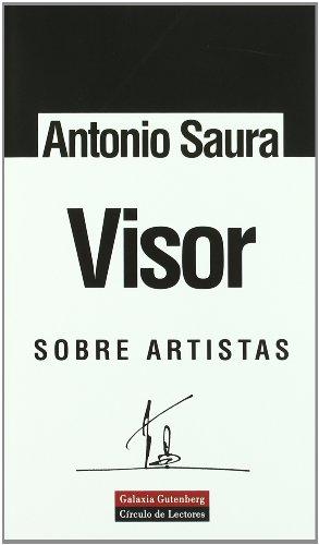 9788481093544: Visor: Sobre artistas (Ensayo)