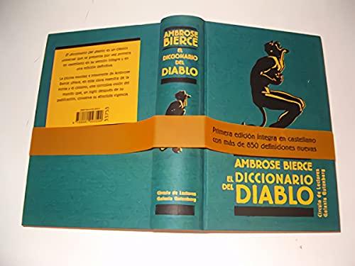 9788481093599: El diccionario del diablo (Ensayo)