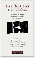 9788481093902: Las ínsulas extrañas: Antología poética 1950-2000 (POESÍA)