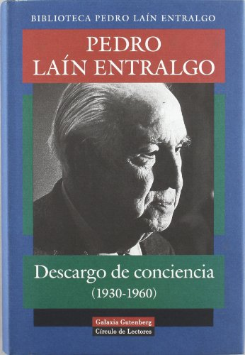 9788481094602: Descargo de conciencia (1930-1960)