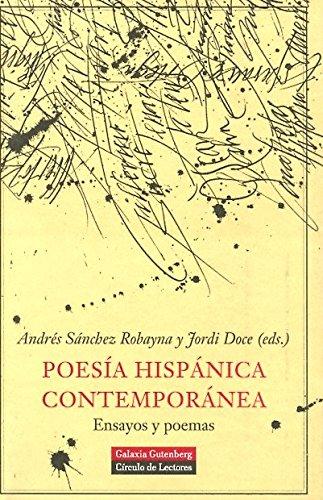 9788481095067: Poesia hispanica contemporanea/ Contemporary Spanish Poetry (Spanish Edition)